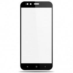 Fekete Xiaomi Mi A1 1x teljes borítású edzett üveg képernyővédő fólia Xiaomi Redmi 5A 4A 4 Mi6