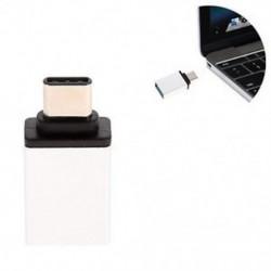 Ezüst Új OTG USB 3.1 adatszinkronizáló töltőadapter átalakító C típusú férfi és USB 3.0 nő