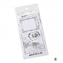 * 8 45Pcs / Pack Vintage Memories Scrapbooking matrica DIY írható papír matricák Hot