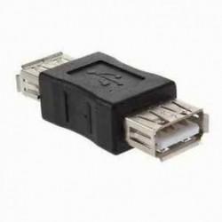 Új szabványos USB 2.0 típusú A-as női és hosszabbító csatlakozó adapter-átalakító