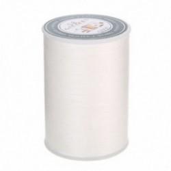 fehér 0,8 mm-es 90 m-es bőr varrással készült viaszos poliészter-kábel menetes kézimunka