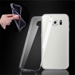 Tiszta, vékony, átlátszó, puha TPU tok a Samsung Galaxy S6 Edge újdonságához