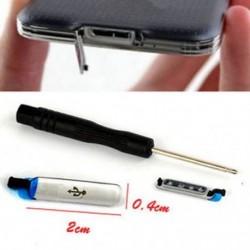 USB töltő dokkoló port fedőlapja vízálló Samsung Galaxy S5 I9600 G900   TL számára