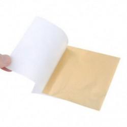 Arany 100 lap Gold Sliver rézlevél fólia papír ehető aranyozás kézműves dekoráció