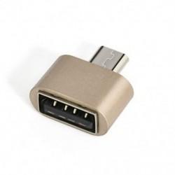 Arany Új Micro USB 2.0 női USB 3.1 típusú C típusú férfi átalakító USB-C OTG adapter