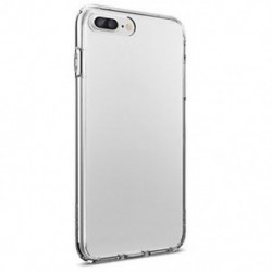 IPhone 7 Plus esetén Puha TPU Ultra vékony, vékony, átlátszó átlátszó borító tok iPhone 6 7 Plus készülékhez