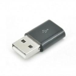 Fekete Új Micro USB-nál USB 2.0-as férfi átalakító adapter a mobiltelefon-tablethez