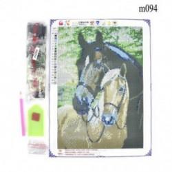 Ló (30 x 30 cm) Hot Full Drill 5D gyémánt festés hímzés kereszt kézműves Stitch Kit lakberendezés