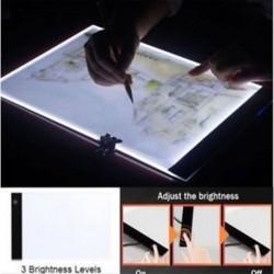 Új LED-es nyomkövető fénydoboz tetoválás A4-es rajzmásolópapír-táblázatos stencil kijelző