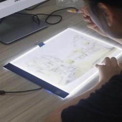 LED nyomkövető fénydoboz tetoválás A4-es rajzolás másolótábla táblázat stencil kijelző