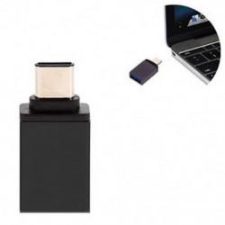 Fekete USB 3.0 női USB-hez 3.1 C típusú férfi átalakító USB-C OTG adapter átalakító Új