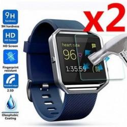 2Pc 9H Premium Real edzett üveg képernyővédő fólia Fitbit Blaze Smart Watchhez