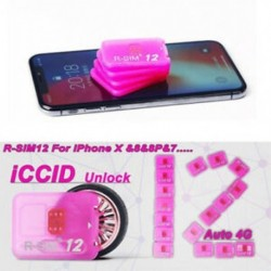 2db R-SIM 12 4G rsim Nano feloldó kártya ISO 12.2 10.x iPhoneX / 8 / 8p / 7 / 7p / 6s / 6sp / 6p