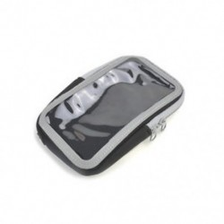 Fekete Sport Futó Jogging tornaterem Arm Band Mobiltelefon érintőképernyő tartó tok Bag HOT