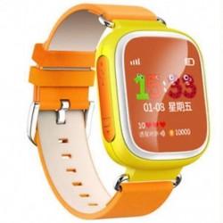 narancs 1 X Elveszett gyerekek Biztonságos GPS Tracker SOS Hívás Smart Watch csukló Android IOS