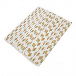 * 4 25PCS / Bag Pinapple Paper S ... Újrafelhasználható, rozsdamentes acélból készült fémszárító