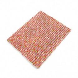 * 4 25PCS / Táska eper papír ... Újrafelhasználható, rozsdamentes acélból készült fémszárító újrahasznosítható