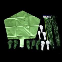 * 13 Zöld készlet 10X 2019 Boldog új évet Latex léggömb karácsonyi születésnapi esküvői party dekoráció