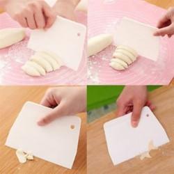 Sugarcraft Scraper Cake díszítő fondant jegesedés simább simító penész DIY