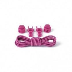 Roes Red   White 1Pair Elasztikus No-Tie Locking cipőfűző cipőfűző cipő csatokkal sportcipő számára