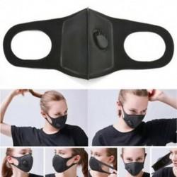 Fekete * 1 Unisex téli meleg száj por elleni influenza arcmaszk Sebészeti légzőmaszk Új