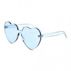 Kék Nagy túlméretezett női Lolita szív alakú napszemüveg divat aranyos szerelem szemüveg