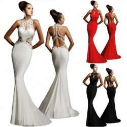 1 db női esküvői ruha estélyi ruha party alkalmi szexi divatos ruha