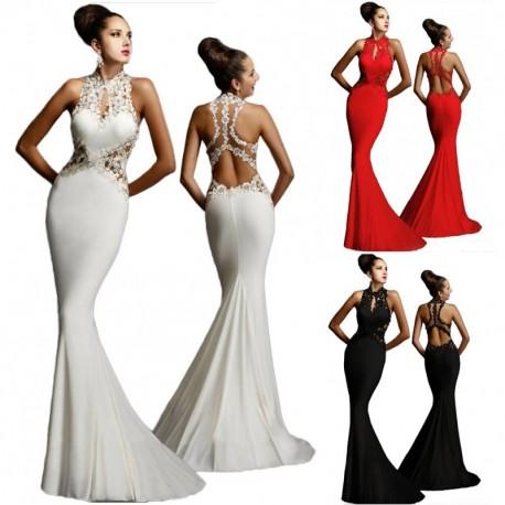 9c917272ab 1 db női esküvői ruha estélyi ruha party alkalmi szexi divatos ruha