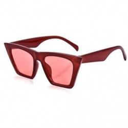 Piros Vintage Retro női macska szem napszemüveg divat árnyalatok túlméretes szemüvegek