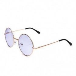 Lila Női retro kerek szemüveg lencsés napszemüveg divat szemüvegek műanyag keret szemüveg