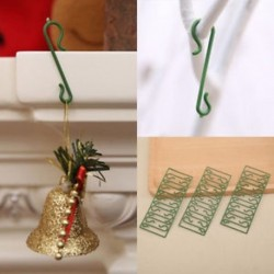 10 db 100db karácsonyfa DIY lógó horog Xmas fa medál otthon díszek dekoráció