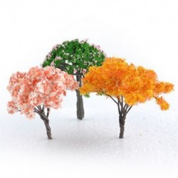 3db Mini Tree Miniatűr kézműves növényi tündérfűke babaház dekoráció kerti dísz DIY új