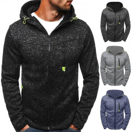 54a08f88ee 1 db férfi kapucnis pulóver felső tréning felső szürke fekete