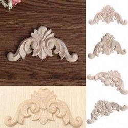 Festetlen fa tölgy faragott sarokfestésű, dekoratív bútorformázó dekor