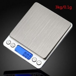 3000g * 0.1 5 kg / 200 g Mini digitális LCD elektronikus mérleg súly zseb ékszer gyémánt skála