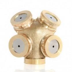 4 lyuk Fúvóka lyukfúvó permetező fúvóka Sprinkler fej kerti mezőgazdasági öntözőrendszer 1PC
