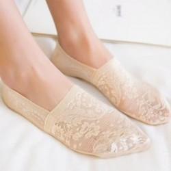 34 Vintage női necc hálós fodros rövid boka magas zokni csipke rövid harisnya