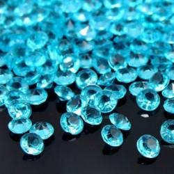 Kék 1000PCS 4.5mm Esküvői Party Dekorációs Kristályok Gyémánt Táblázat Konfetti Kellékek