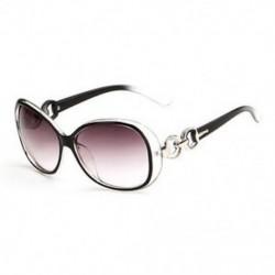 Fekete HOT Eyewear Retro Vintage túlméretezett női divattervező napszemüveg szemüveg JP