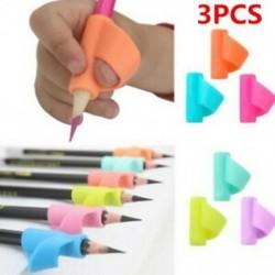 * 2 3Pcs / Véletlenszerű beállítás 3Pcs / Set Gyermek ceruzatartó tollírás Grip testtartás korrekciós eszköz Új