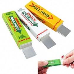 Vicces elektromos sokkoló rágógumi sokk joke Gadget tréfa trükk gag játék ajándék