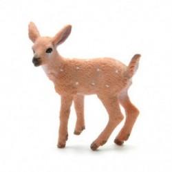 Dámvad 1 db szarvas figura Karácsonyi baba fehérfarkú rénszarvasok otthon Xmas dekoráció JP