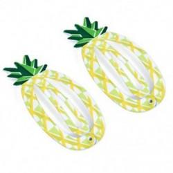 Ananász 2PCS Baby Girl Gyümölcs hajcsípő görögdinnye Pineapple Bird Mini Barrettes Hairpin