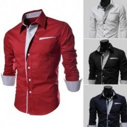 1 db férfi ing piros kék fekete hosszúujjú