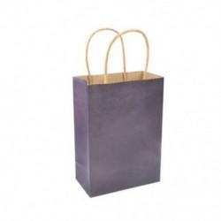 * 2 10 szín Esküvői Kraft party papír hordozótáskák Kezelje a fogantyúval ellátott zsákot