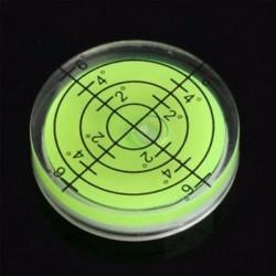 Zöld 32x7 mm-es Spirit Bubble Degree Mark felületi szintű kerek körmérő mérő JP