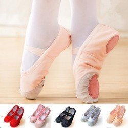 1 db gyermek balett cipő barack színű vászon
