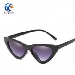 Fekete keret   szürke lencse 2019 Nők Cat Eye napszemüveg Retro Classic Designer Vintage árnyalatok Szemüvegek