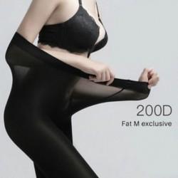 * 2 fekete (200D) 30D Super Elasztikus Harisnya Női Nylon Varázslatos Harisnyanadrág Újszülött Harisnyanadrág