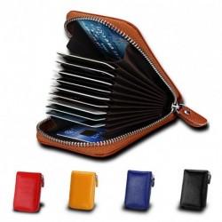 1 db cipzáros kártyatartó bankkártya tartó hitel kártyatartó sárga kék fekete férfi női